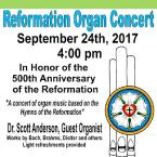 Reformation Organ Concert