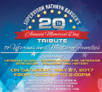 20th Annual Memorial Day Tribute