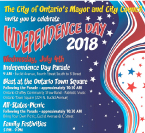 Ontario Independence Day 2018
