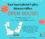 San Gabriel Valley District Office Open House