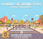 Glendora Police Safe Driving Pledge