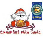 Azusa Breakfast with Santa