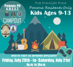Pomona PD Camp Out