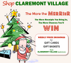 Shop Claremont and Win