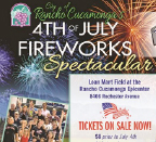 Rancho 4th of July Fireworks