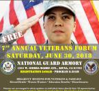 7th Annual Veterans Forum
